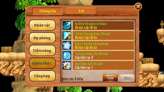 Thông tin Nick Làng Lá Phiêu Lưu Ký mã số 116