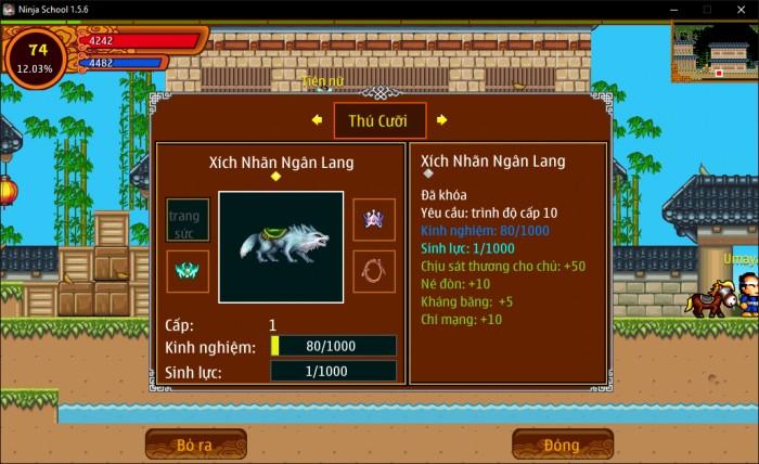 Thông tin Nick Ninja School mã số 155