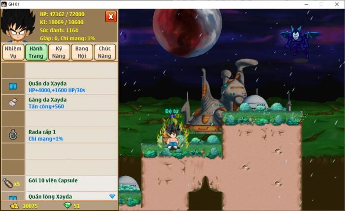 Thông tin nick Ngọc Rồng mã số 6700